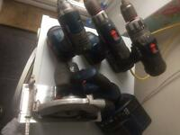 AEG battery power tools Joblot