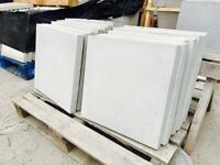 450x450mm plain / smooth concrete paving slabs