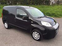 2010 Fiat Fiorino 1.3JTD Cargo Panel Van 2 KEYS, NEW 12 MONTHS MOT, NO VAT!