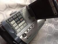Sony handy cam also about 20 re recordable discs