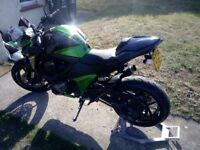 Z800 11 moths mot Dyno jet
