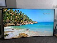 """Samsung 65"""" curved 4K smart tv"""