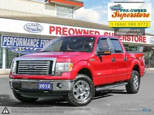 2012 Ford F-150 XTR***chrome boards, 3.5L Ecoboost***
