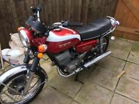 Suzuki gt250 import with papers