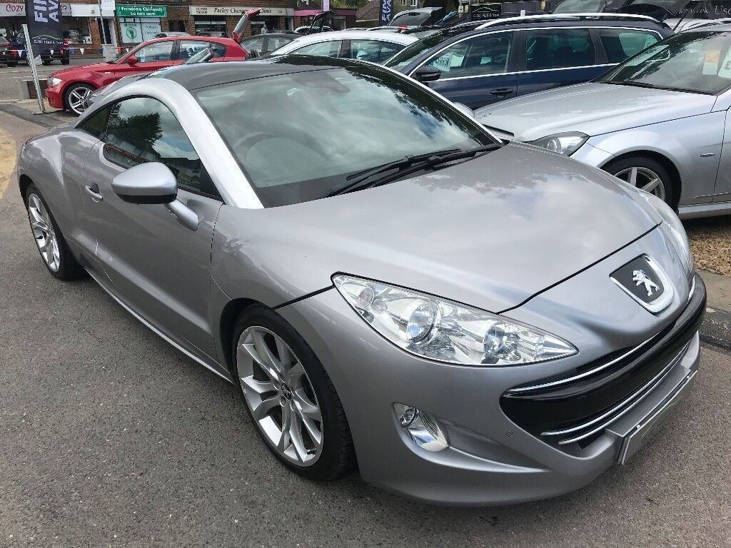 2012/12 PEUGEOT RCZ 1 6 THP GT 2DR SILVER ,AUTOMATIC,LOW MILEAGE,FULL  LEATHER,HIGH SPEC,STUNNING | in West Parley, Dorset | Gumtree