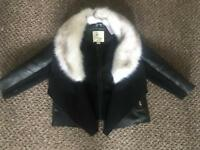 Toddler Leather Style Jacket. River Island. Perfect Condition