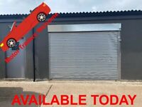 😀 * NEW * 😀 1800. SQ/ FT COMMERCIAL UNIT FOR RENT WORKSHOP / CAR REPAIRS / STORAGE