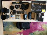 Nikon D5300 + Sigma 17-55 2.8 + many extras