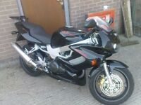 Honda Firestorm VTR 1000. Excellent condition VERY Low mileage.