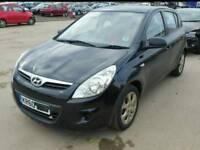 Hyundai i20 comfort 2011, 47000k miles, damaged repairable