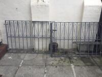 Set of enterance gates