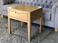 Ava Oak Occasional Small Lamp Table BRAND NEW!