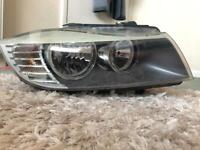 BMW 3 series e90 right driver side headlight