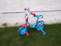 "Thomas & Friends 10"" Kids' Bike with Stabilisers"