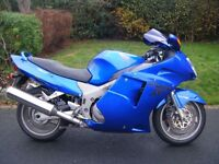Honda CBR1100 XX Super Blue bird. only 8300 Miles