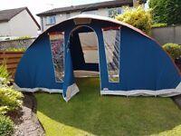 Cabanon Latitude 2 / 4 Berth Quality Canvas Tent