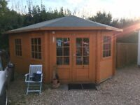 17ft by 10ft summerhouse / office
