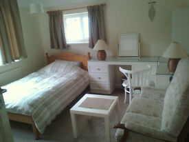 Large double bedroom/sitting room on a private estate