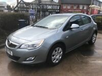 VERY LOW MILEAGE,HPI CLEAR,AUTOMATIC 2010 VAUXHALL ASTRA EXCLUSIVE 1.6,FULL SERVICE DONE,46000 MILES