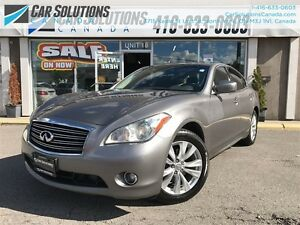 2011 Infiniti M37x AWD-NAVI-SNROOF-LETHER