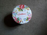 Empty Cath Kidston tin
