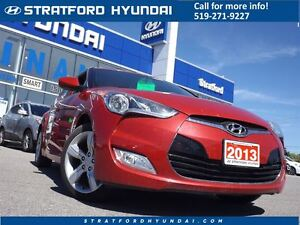 2013 Hyundai Veloster Base | SMART KEY | REAR CAM | HEATED SEATS Stratford Kitchener Area image 1