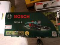 Bosch chain and rep saws and rooter