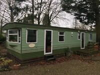 Static Caravan for sale, on Fell end caravan park. Great starter caravan Abi Montrose 35x12