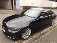 BMW 330d M Sport Auto Black Coupe E92 Diesel Not 320 325 335 Cheap Bargain Quick Sale