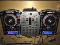 Numark NDX400 plus VMX200 mixer