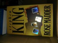 Stephen King Hardback Book Rose Madder - Perfect Condition