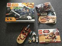 Lego starwars landspeeders x 3