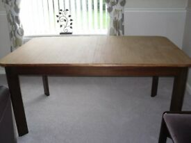 Vintage 1970's G Plan Teak Dining Table & Chairs