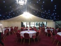 Marquee Hire, Desi Tent Hire, Wedding lights, Wedding and Mehndi Night Decor, tables & chairs hire