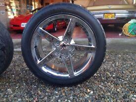 Corvette Wheels and Tyres