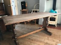 Antique dining room tables
