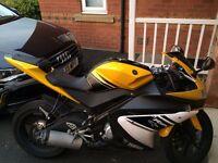 Yamaha YZF R125 2008 Yellow/Black/White