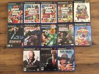 PS2 and 15 games with 1 controller for sale