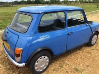 Classic Rover Mini Sprite 1.3 - MOT to June 17