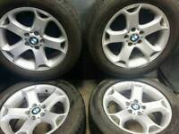 18 inch 5x120 genuine BMW alloy wheels
