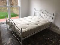 Double bed + good quality mattress