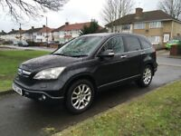 2007 Honda CRV 2.2 Cdti Diesel 1yr MOT Cruise Contrl Dual Climate Heated Seat LetherTrim P/X Welcome