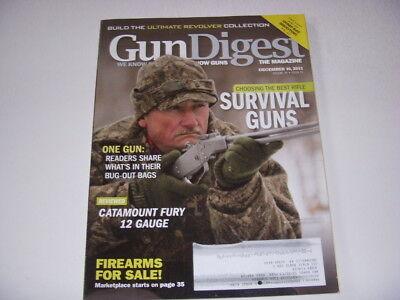 GUN DIGEST Magazine, DECEMBER 16, 2013, CHOOSING THE BEST RIFLE SURVIVAL (The Best Survival Gun)