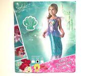 Loveheart Ariel Girls Fancy Dress Fairytale Little Mermaid Kids Childs Costume - Medium