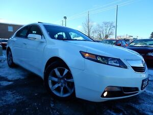 2012 Acura TL PREMIUM   LEATHER.ROOF   ONE OWNER   LEASE RETURN