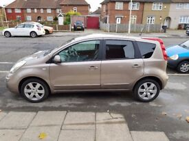 BEIGE NISSAN NOTE IN EXCELLENT CONDITION