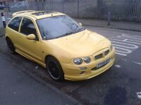 2004 MG ZR 1.4 11 MONTHS MOT DRIVES PERFECT NO FAULTS LOAD OF RECEIPTS HEAD GASKED RECENTLY CHANGED