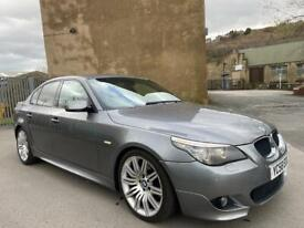 image for 2008(58) BMW 525d M-SPORT NAV AUTOMATIC HEATED LEATHER FSH