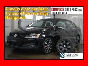 2014 Volkswagen Jetta 2.0 TDI Highline *Navi/GPS,Cuir,Toit,8 mag