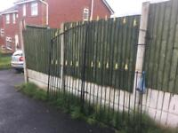 8ft wide tall driveway gates with all hinges & brackets ready to fit CAN DELIVER